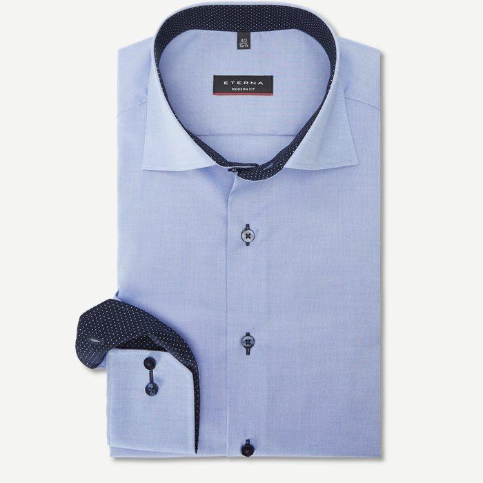 8100 Skjorte - Skjorter - Modern fit - Blå