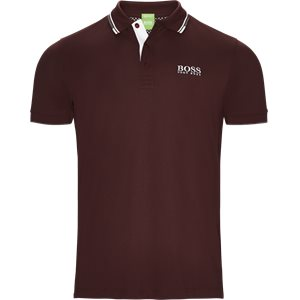 Paddy Pro Polo T-shirt Regular | Paddy Pro Polo T-shirt | Bordeaux