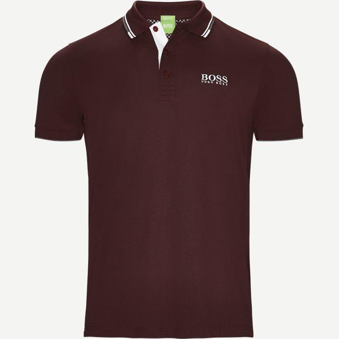 Paddy Pro Polo T-shirt - T-shirts - Regular - Bordeaux