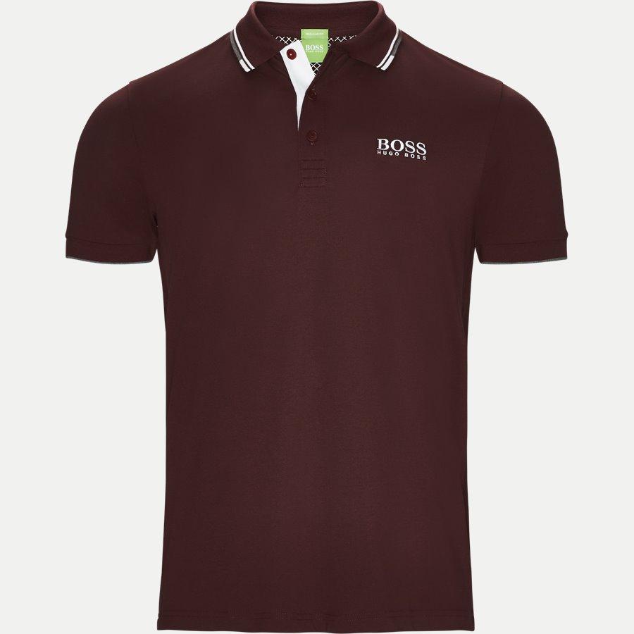 50326299 PADDY PRO, - Paddy Pro Polo T-shirt - T-shirts - Regular - BORDEAUX - 1