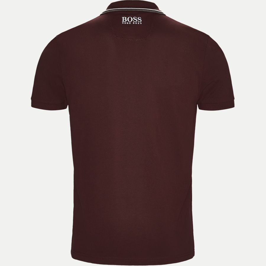 50326299 PADDY PRO, - Paddy Pro Polo T-shirt - T-shirts - Regular - BORDEAUX - 2