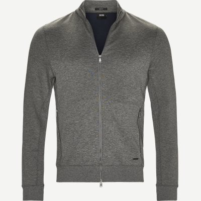 Soule 8 Zip Sweat Jacket Slim | Soule 8 Zip Sweat Jacket | Grå