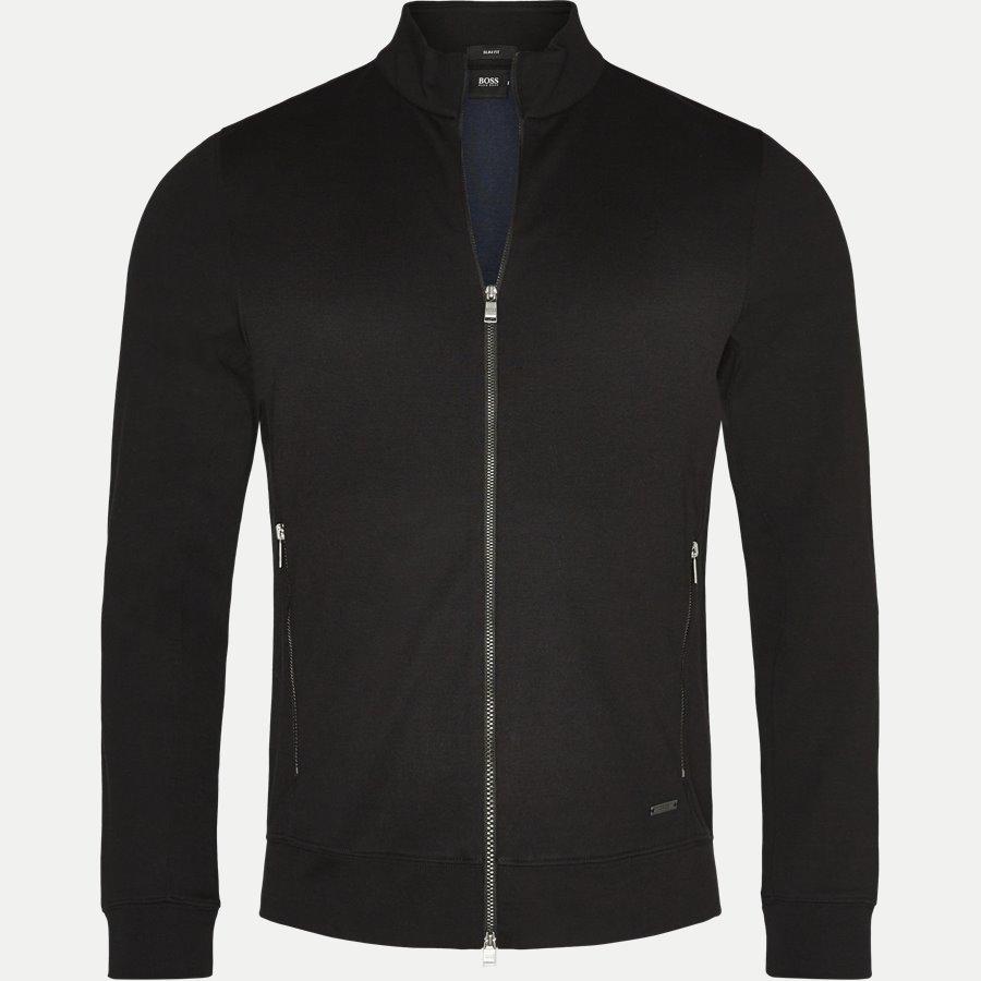 50373302 SOULE 8 - Soule 8 Zip Sweat Jacket - Sweatshirts - Slim - SORT - 1