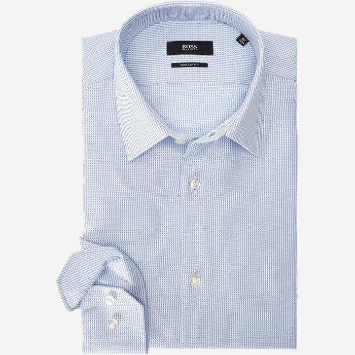 Jason/Enzo Skjorte - Skjorter - Blå
