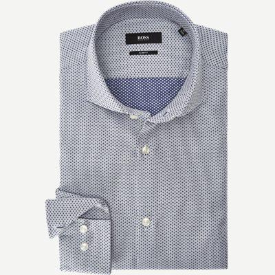 Jason Skjorte Slim   Jason Skjorte   Blå