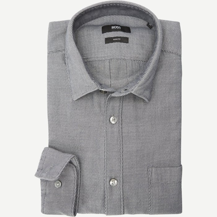 Shirts - Slim - Grey