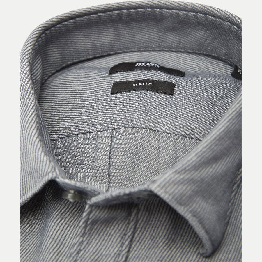 50372895 RONNI - Ronni Skjorte - Skjorter - Slim - GRÅ - 2