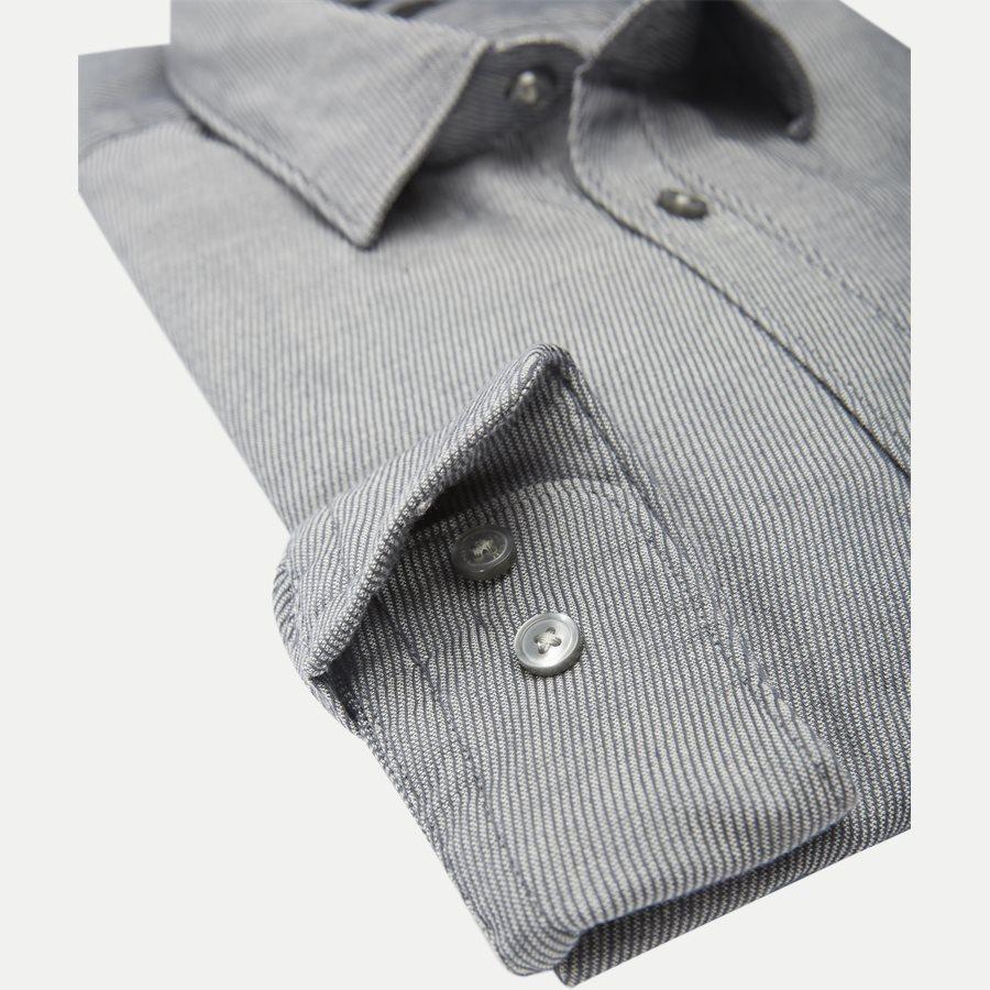 50372895 RONNI - Ronni Skjorte - Skjorter - Slim - GRÅ - 4
