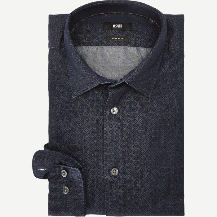 Lance Skjorte - Skjorter - Regular - Blå