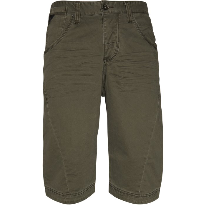 BAGGY ONE - Shorts - Loose - Grøn