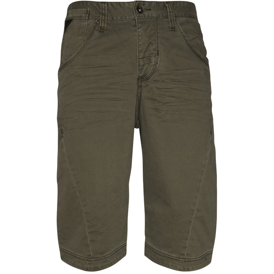 BAGGY ONE 74193 - BAGGY ONE - Shorts - Loose - GRØN - 1