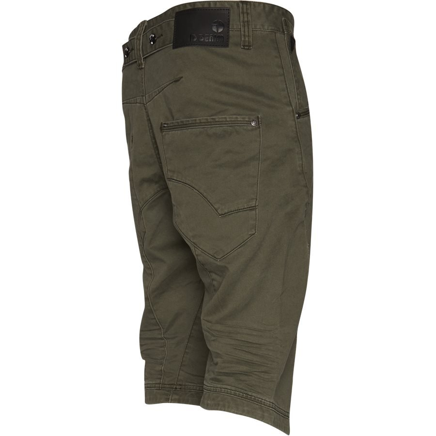 BAGGY ONE 74193 - BAGGY ONE - Shorts - Loose - GRØN - 3