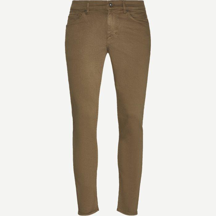 Jeans - Slim - Brown