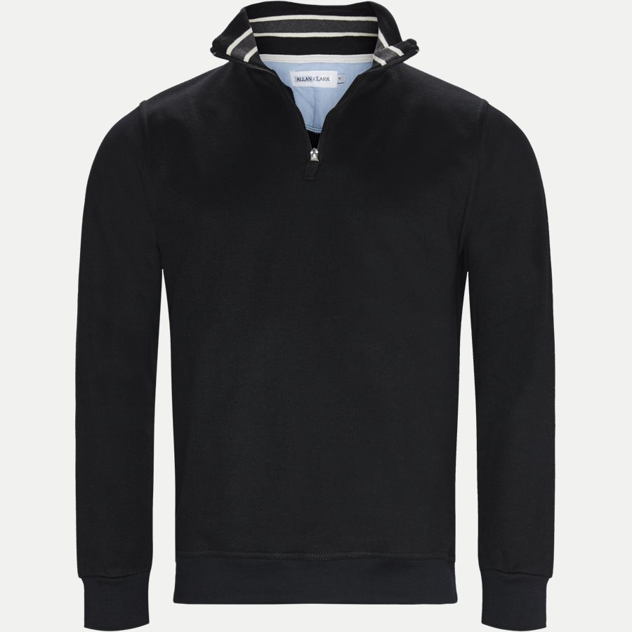 BILBAO - Bilbao Sweatshirt - Sweatshirts - Regular - BLACK - 1