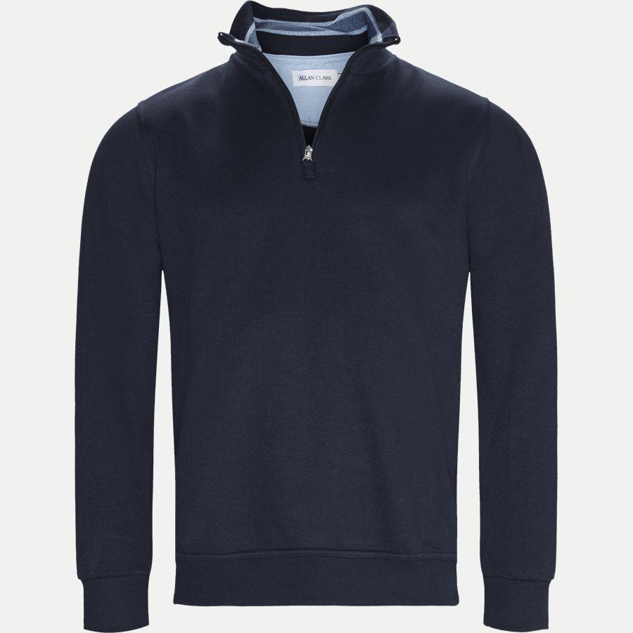 BILBAO - Bilbao Sweatshirt - Sweatshirts - Regular - NAVY - 1