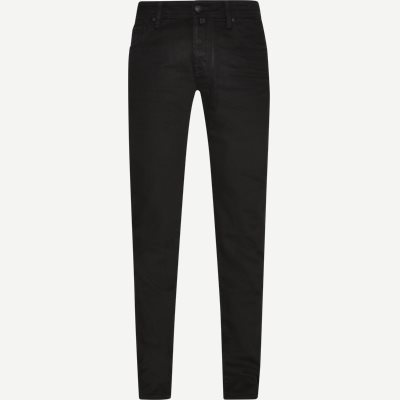 Handmade Tailored Jeans Slim | Handmade Tailored Jeans | Sort