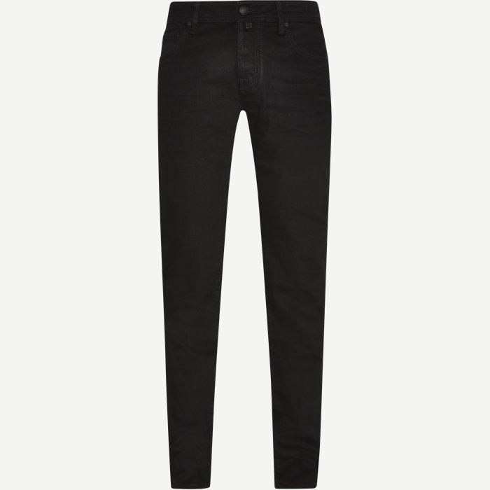 Handmade Tailored Jeans - Jeans - Slim - Sort