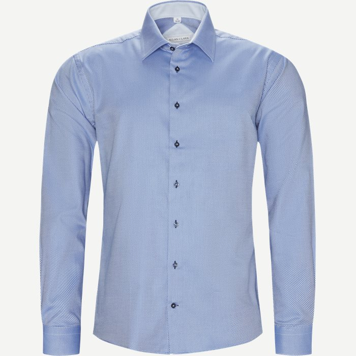 Lauritz Skjorte - Skjorter - Modern fit - Blå