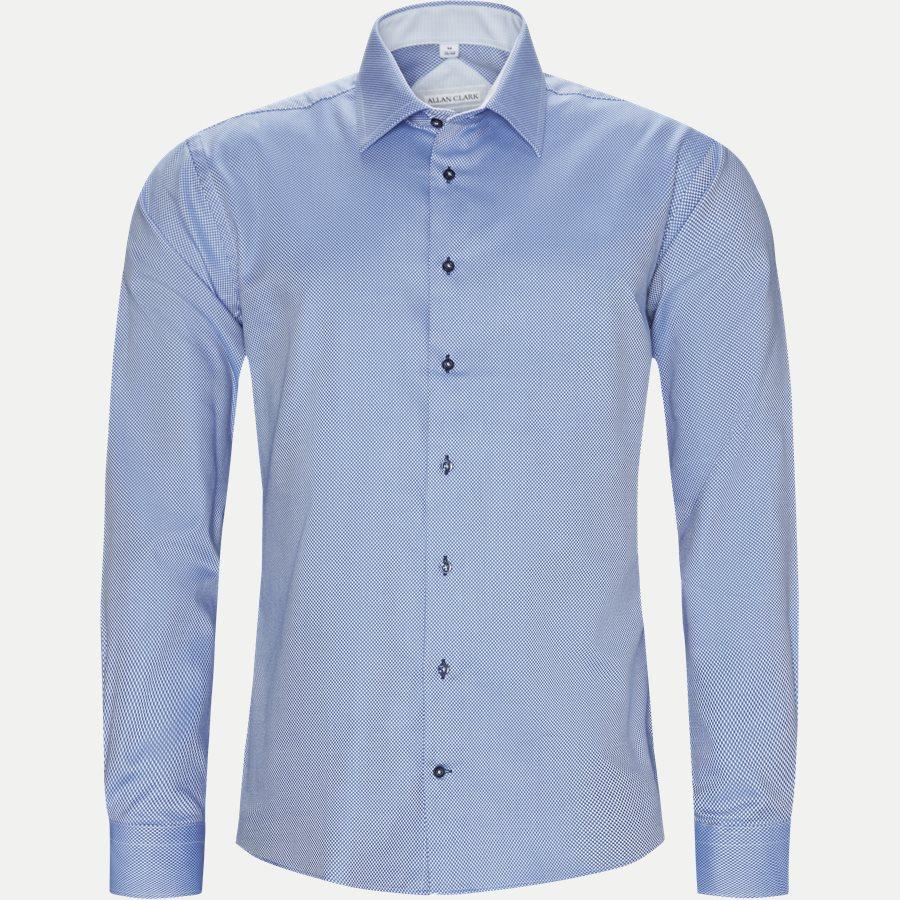 LAURITZ - Lauritz Skjorte - Skjorter - Modern fit - BLUE - 1