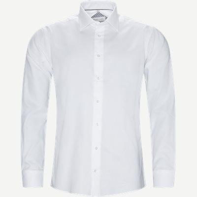 Hubert Skjorte Modern fit | Hubert Skjorte | Hvid