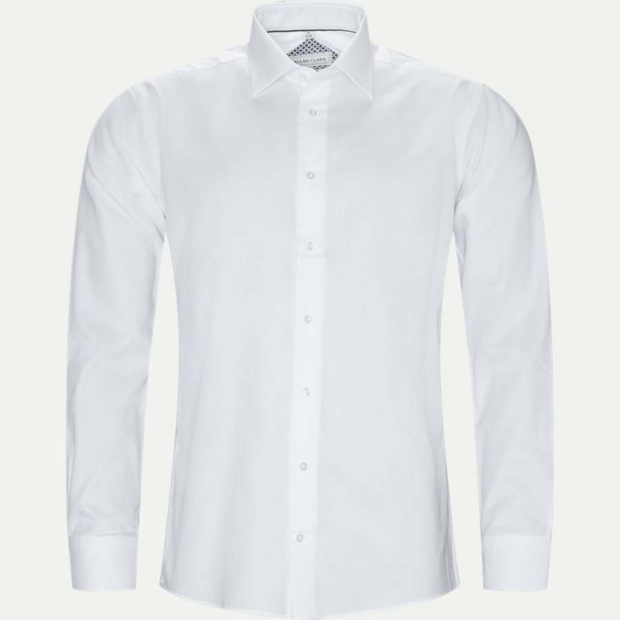HUBERT - Shirts - Modern fit - WHITE - 1
