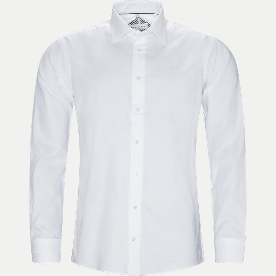 e6b0c7a6 HUBERT - Hubert Skjorte - Skjorter - Modern fit - WHITE - 1