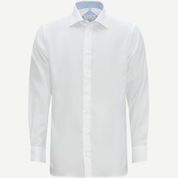 Hubert Skjorte - Skjorter - Modern fit - Hvid