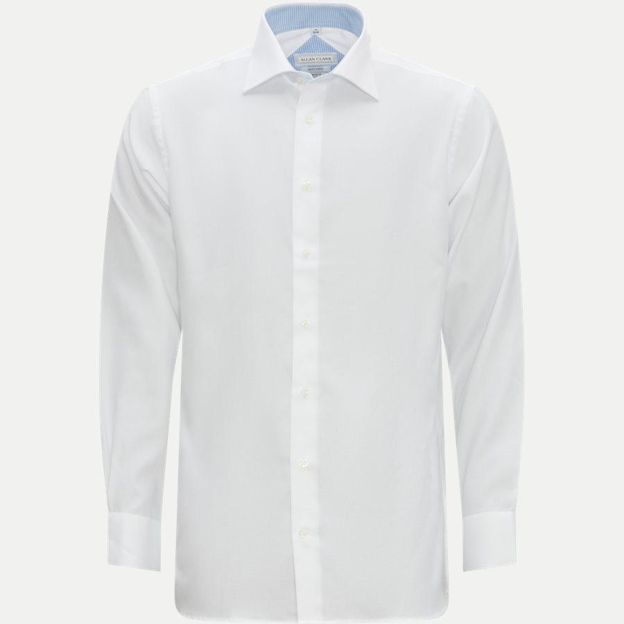 HUBERT - Shirts - Modern fit - WHITE - 3