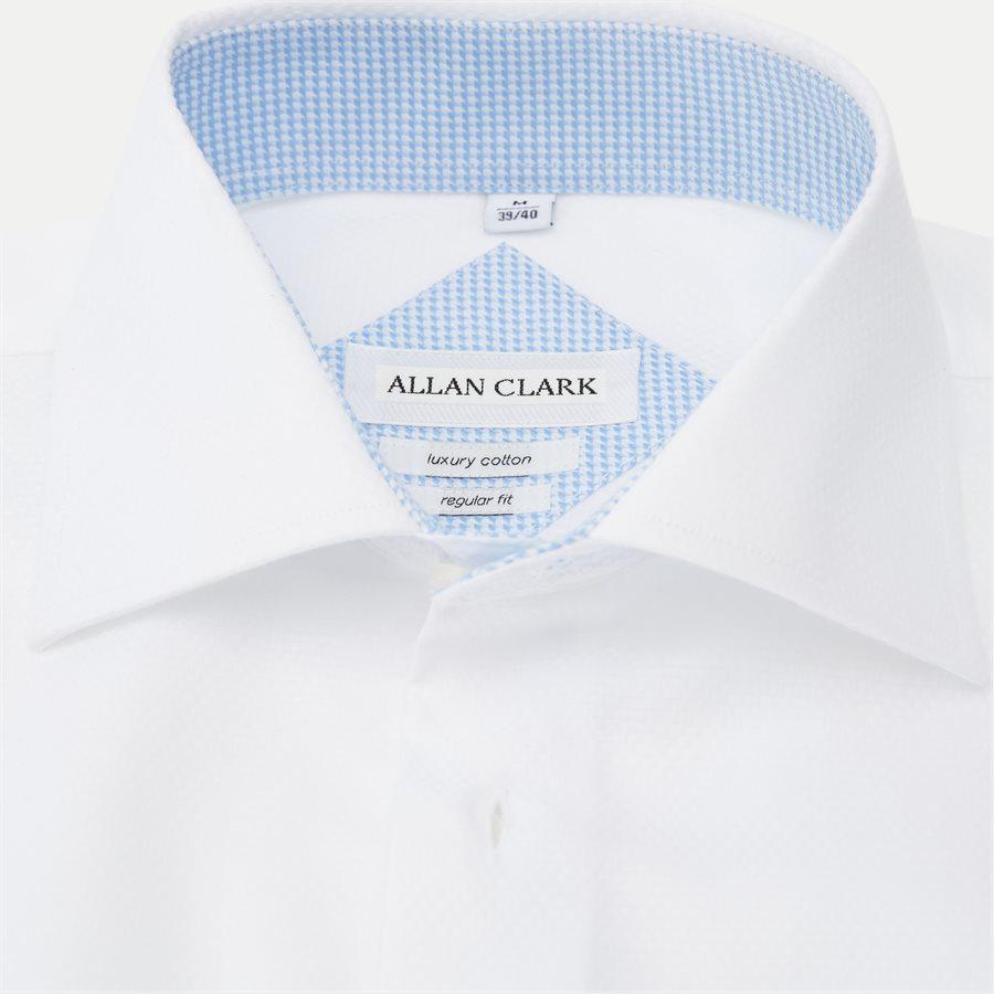 HUBERT - Shirts - Modern fit - WHITE - 5