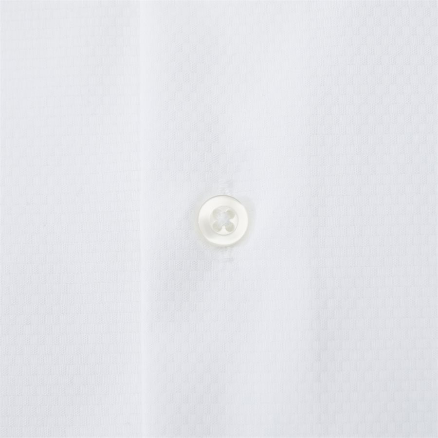 HUBERT - Shirts - Modern fit - WHITE - 4
