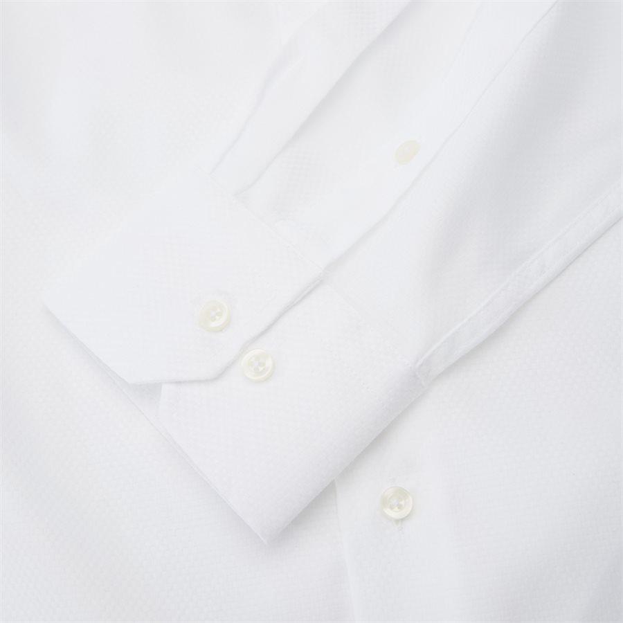 HUBERT - Shirts - Modern fit - WHITE - 6