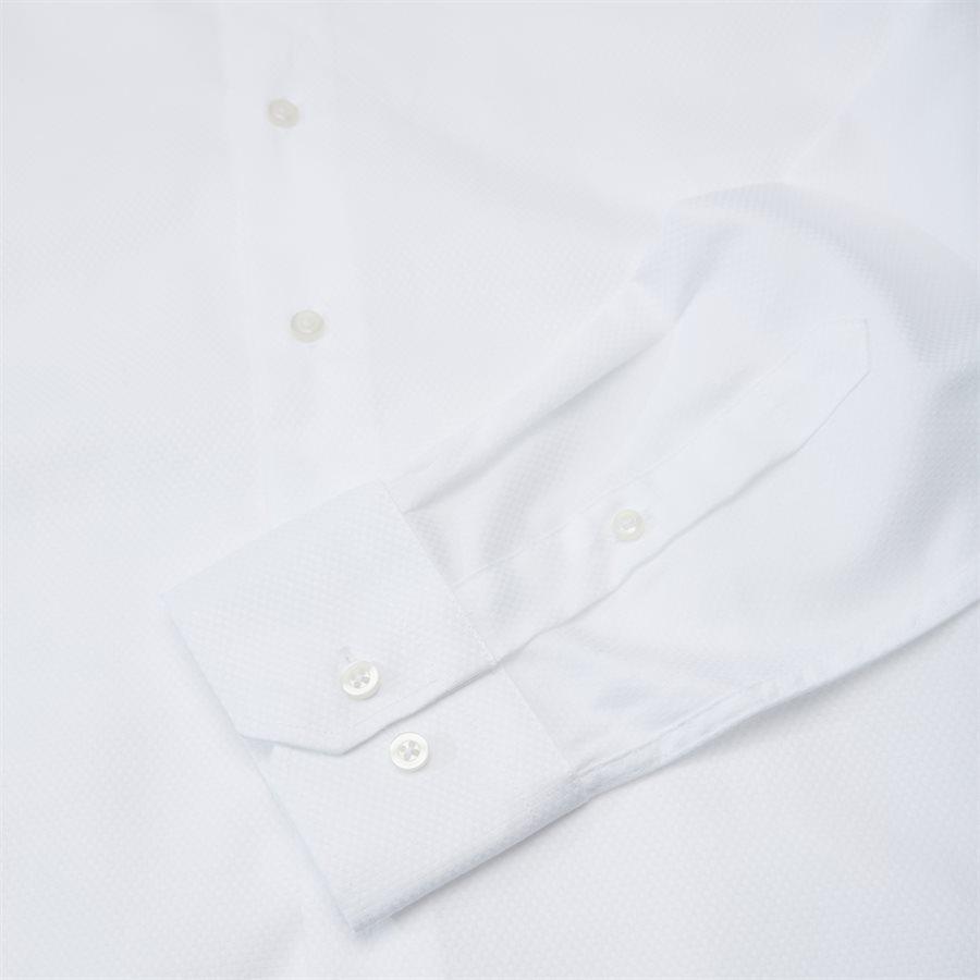 HUBERT - Shirts - Modern fit - WHITE - 7