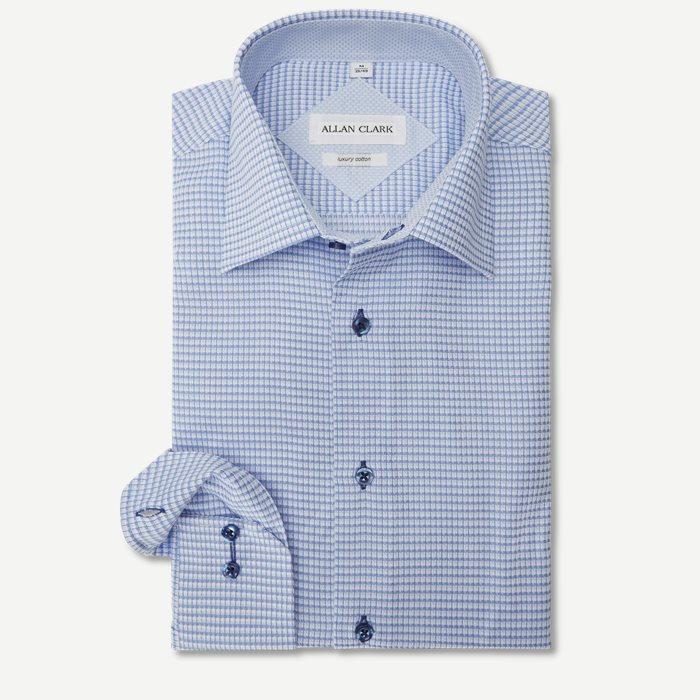 Williams Skjorte - Skjorter - Modern fit - Blå