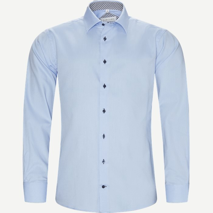 Nolan Skjorte - Skjorter - Modern fit - Blå