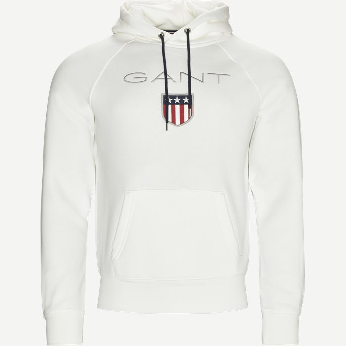 Shield Sweat Hoodie - Sweatshirts - Regular - Sand