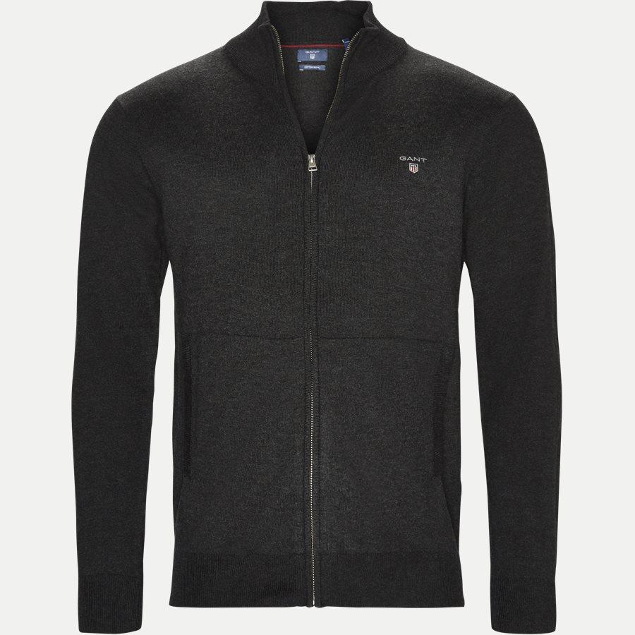 83104 - Cotton Wool Zip Cardigan - Strik - Regular - KOKS - 1