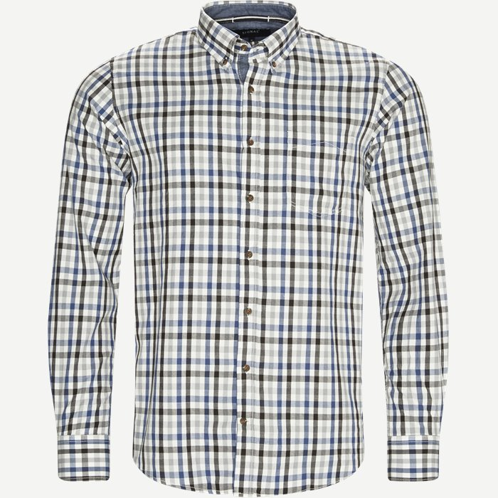 Skjorte - Skjorter - Regular - Brun