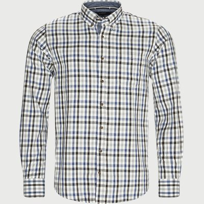 Skjorte Regular   Skjorte   Brun