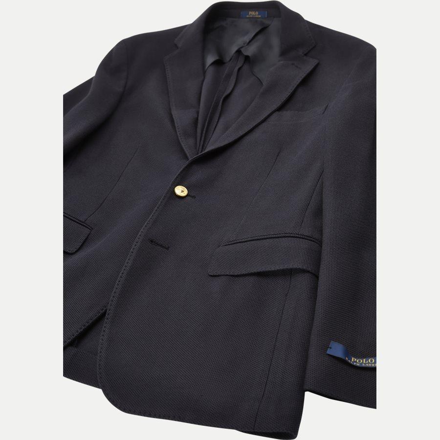 715673154 - Knit Mesh Blazer - Blazer - Regular - NAVY - 5