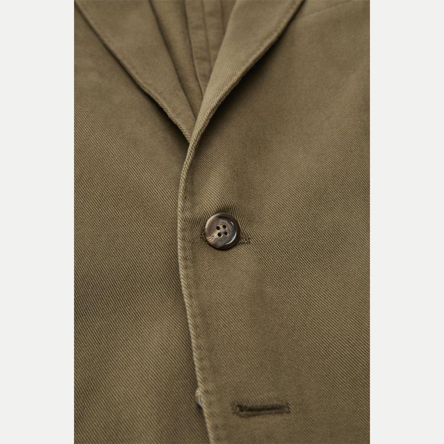 715673123 - Stretch Cotton Twill Blazer - Blazer - Regular - OLIVE - 3