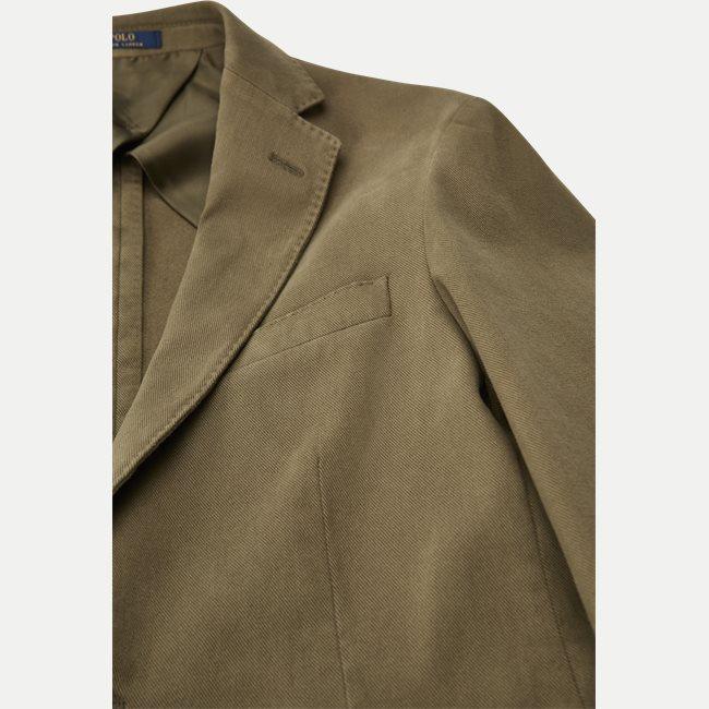 Stretch Cotton Twill Blazer