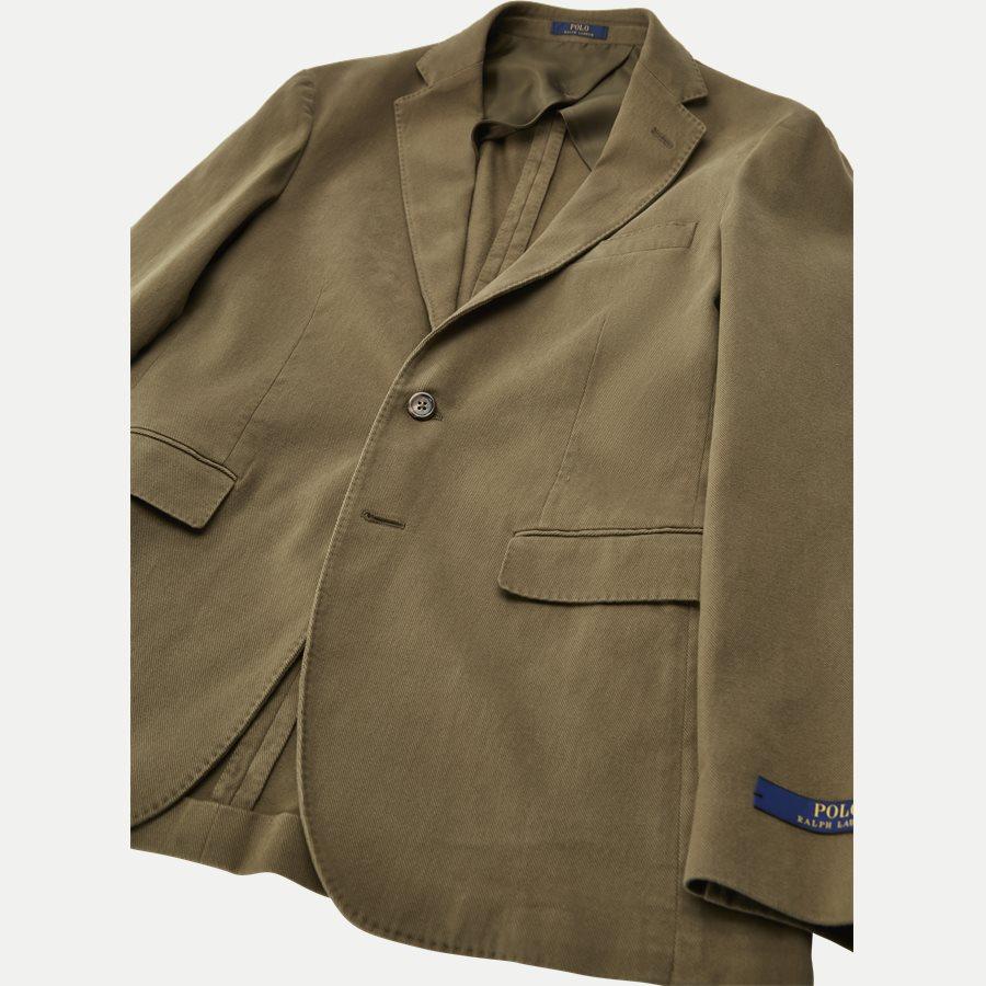 715673123 - Stretch Cotton Twill Blazer - Blazer - Regular - OLIVE - 5