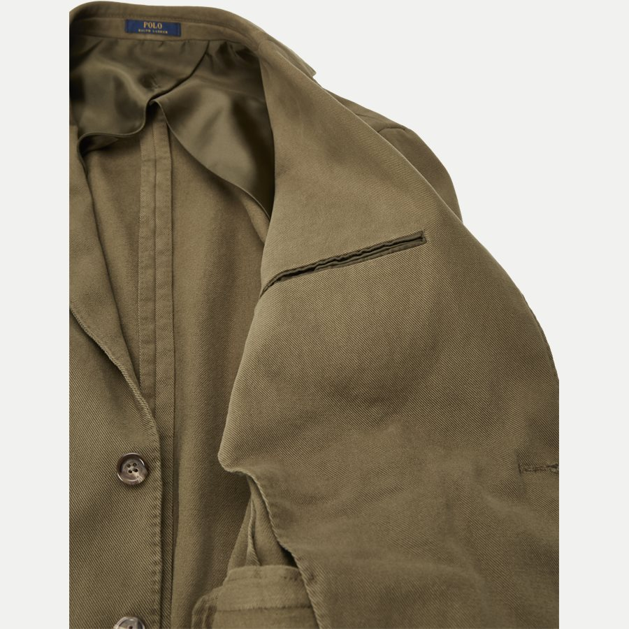 715673123 - Stretch Cotton Twill Blazer - Blazer - Regular - OLIVE - 6