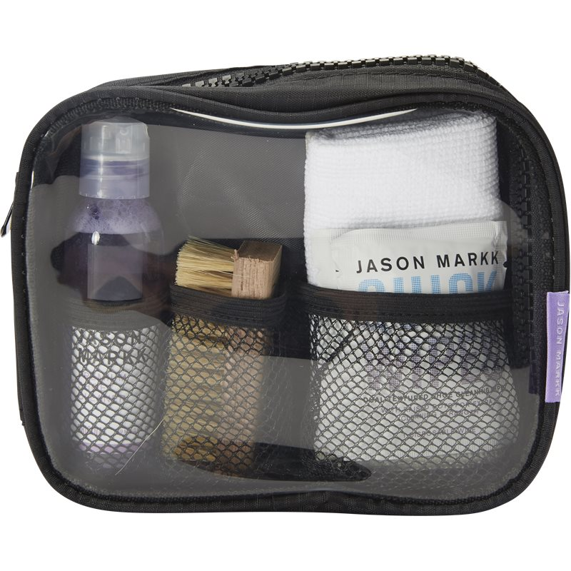 jason markk – Jason markk travel shoe cleaning kit sko rens transparent på quint.dk