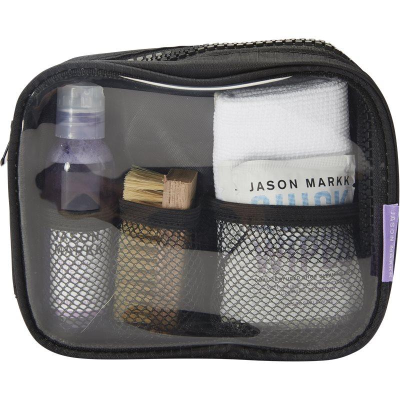 jason markk – Jason markk travel shoe cleaning kit sko rens transparent på quint.dk