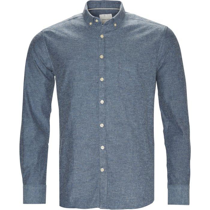Adam - Skjorter - Regular - Blå