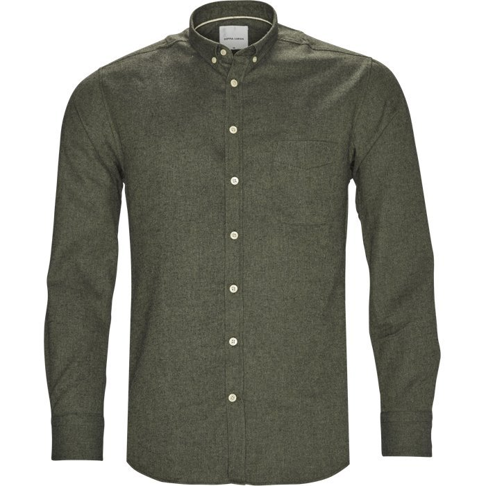 Adam Skjorte - Skjorter - Regular - Grøn