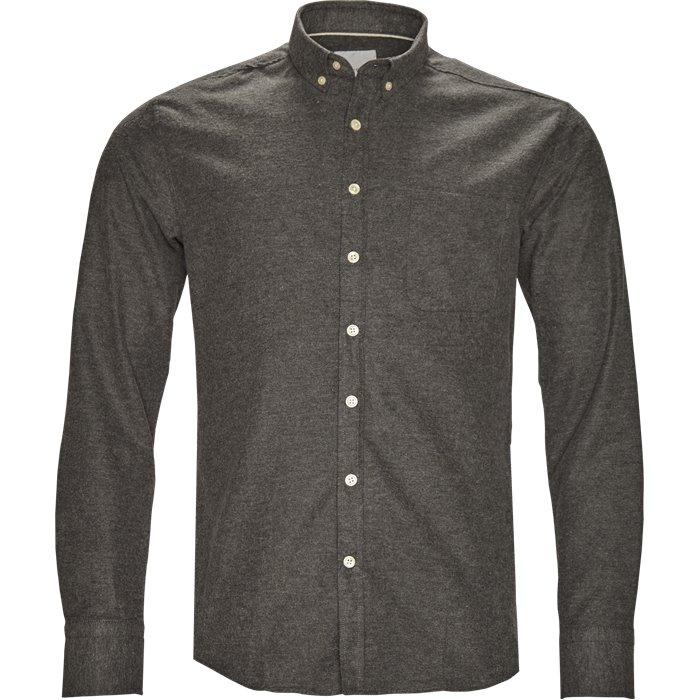 Adam Skjorte - Skjorter - Regular - Grå