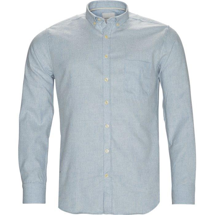 Adam Skjorte - Skjorter - Regular - Blå
