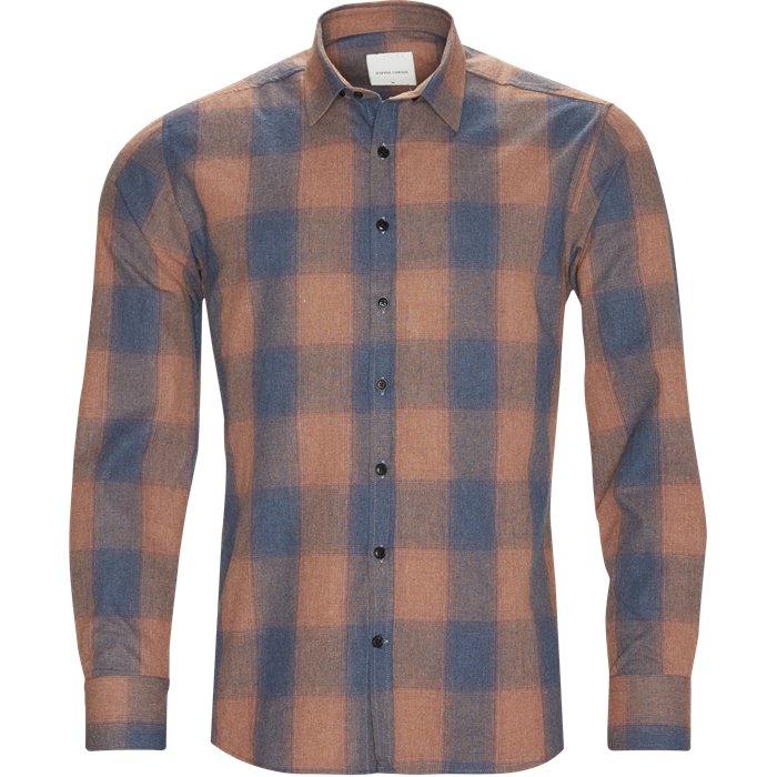 Fred - Skjorter - Regular - Blå